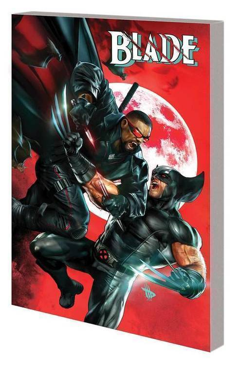 Marvel comics blade by guggenheim complete collection tpb 20191127