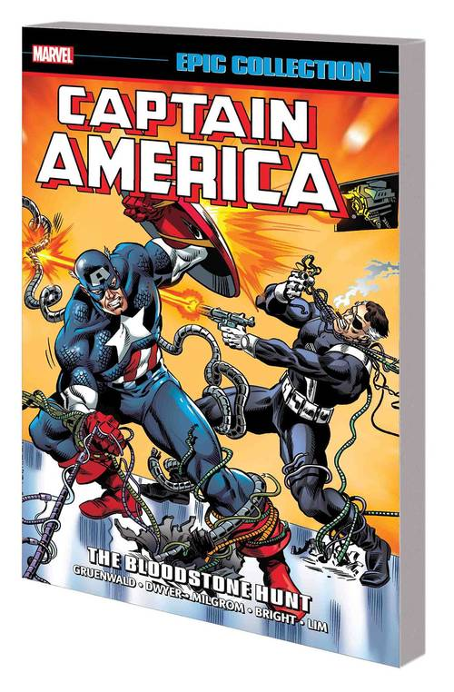 Marvel comics captain america epic collection tpb bloodstone hunt 20171231