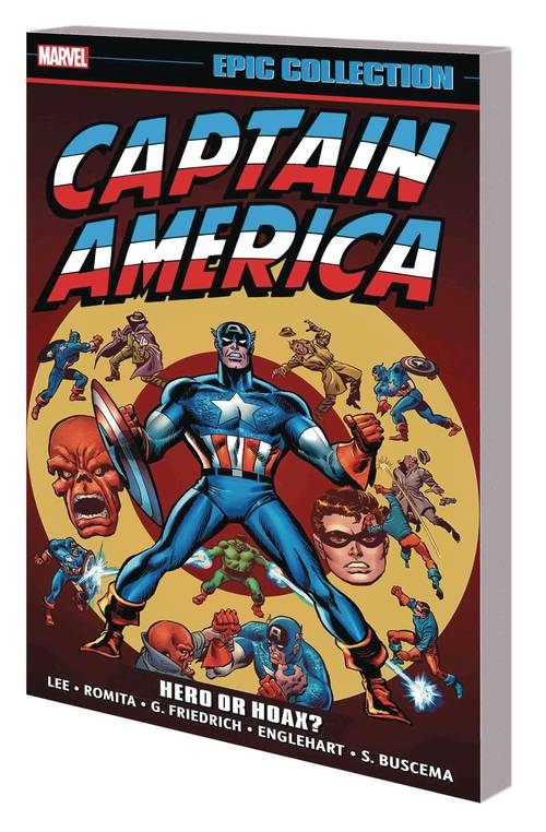 Marvel comics captain america epic collection tpb hero or hoax 20180329