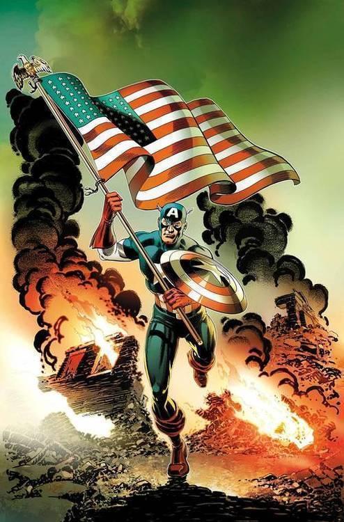 Marvel comics captain america invaders bahamas triangle 20190424