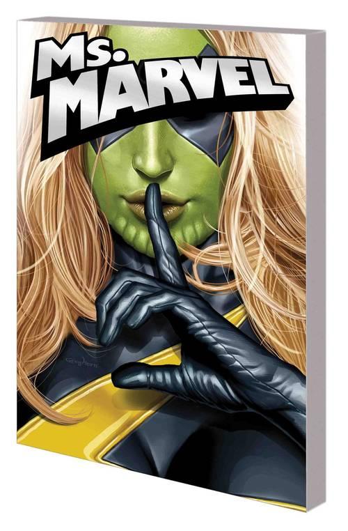 Marvel comics captain marvel carol danvers tpb volume 02 ms marvel years 20180430