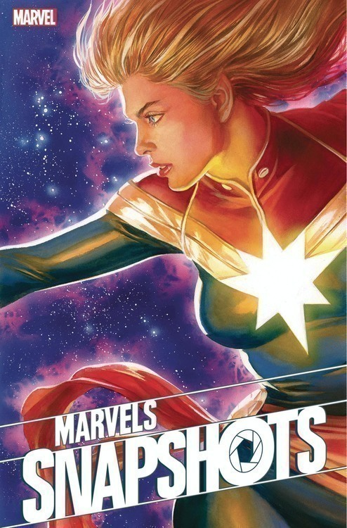 Marvel comics captain marvel marvels snapshots 20200328