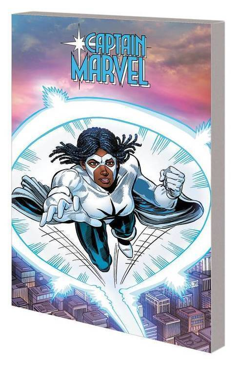 Marvel comics captain marvel tpb monica rambeau 20181025