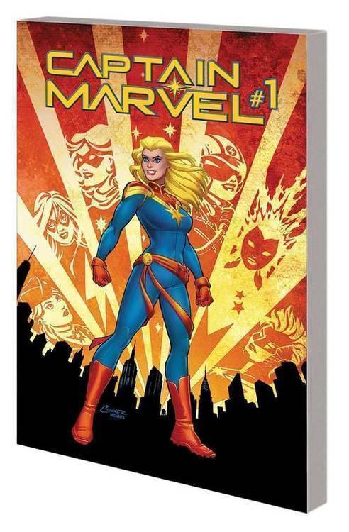 Marvel comics captain marvel tpb volume 01 re entry 20190529