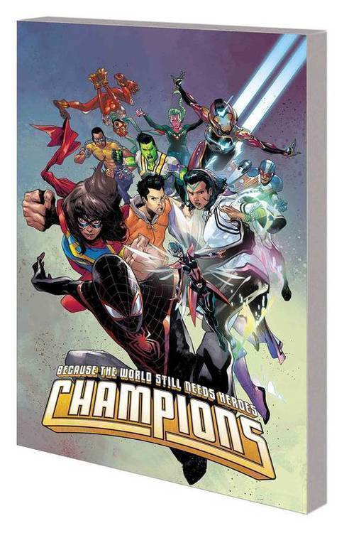 Champions By Jim Zub TPB Vol 01 Beat The Devil