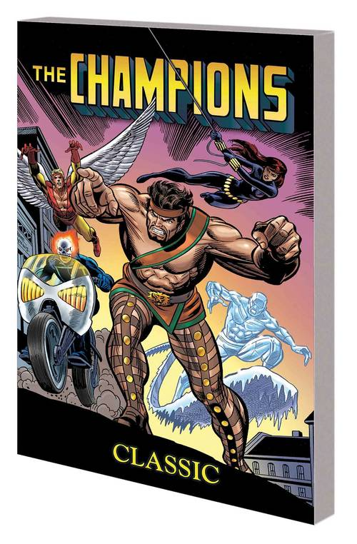 Marvel comics champions classic complete collection tpb 20180302