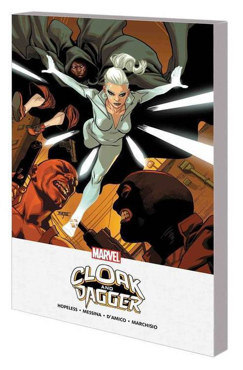 Marvel comics cloak and dagger mpgn tpb shades of gray 20180830