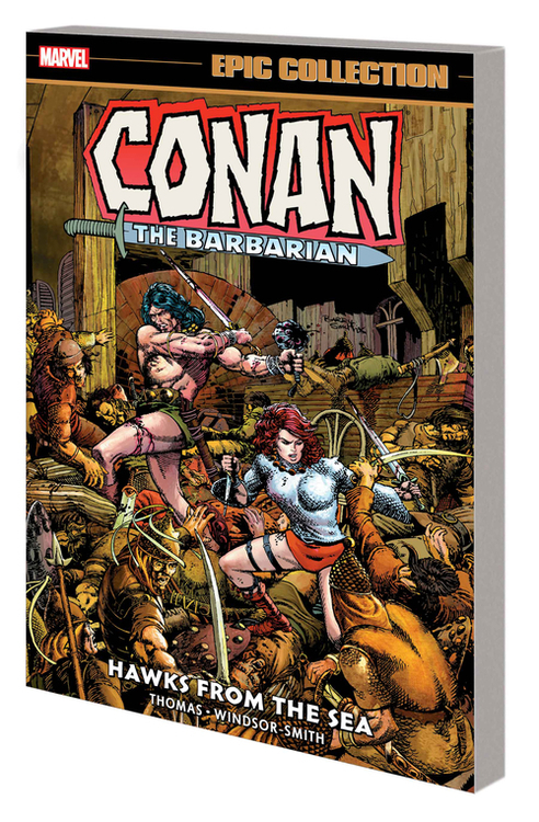 Conan Barbarian Epic Coll Orig Marvel Yrs TPB Hawks From Sea