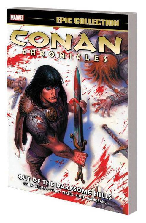 Marvel comics conan chronicles epic collection tpb darksome hills 20181025
