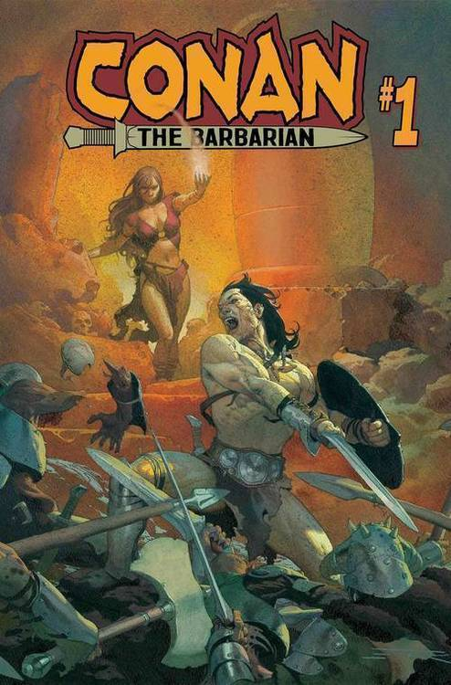 Marvel comics conan the barbarian 20181025