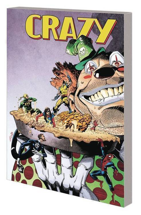 Marvel comics crazy tpb 20190926