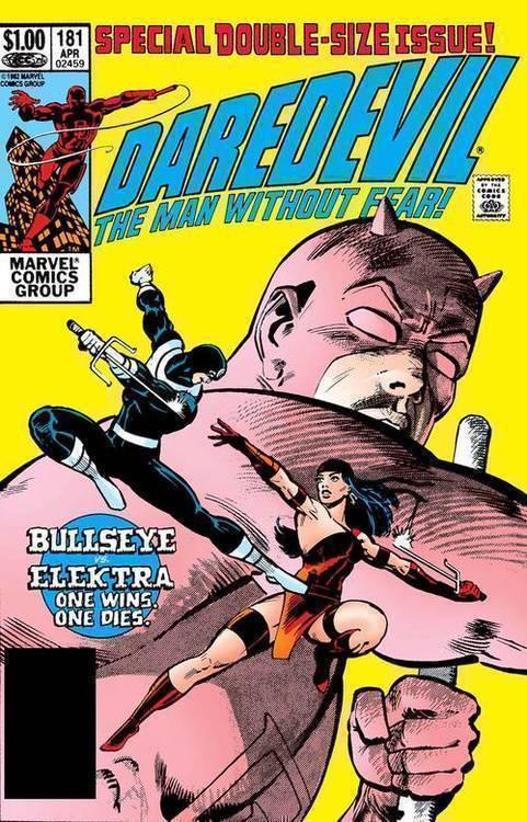 Marvel comics daredevil 181 facsimile edition 20190626
