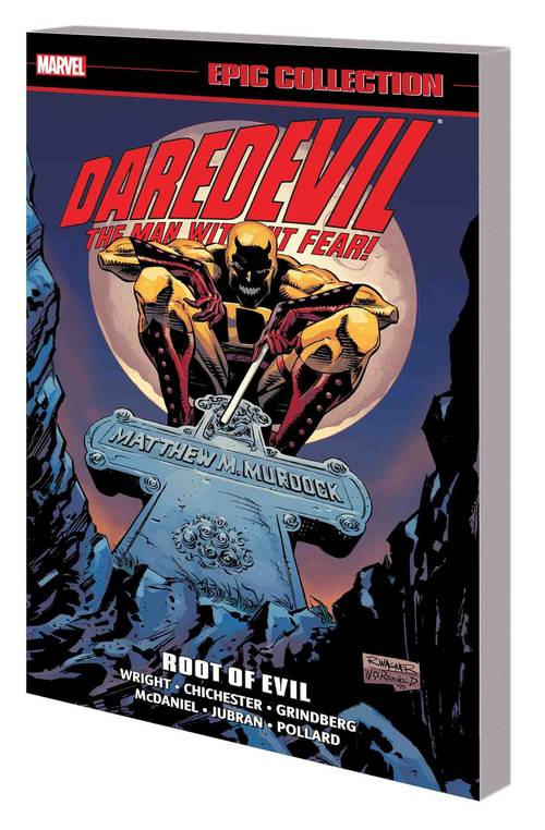 Marvel comics daredevil epic collection tpb root of evil 20180430