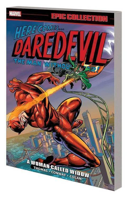Marvel comics daredevil epic collection tpb woman called widow 20190626