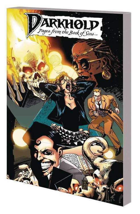 Marvel comics darkhold tpb pages from book of sins complete collection 20180701