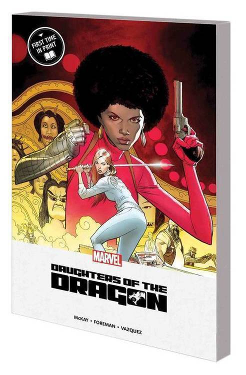 Marvel comics daughters of dragon mpgn tpb 20181025