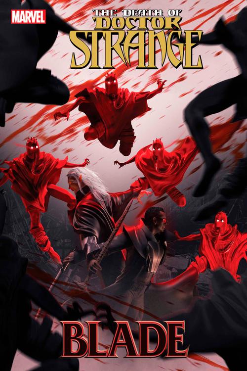 Marvel comics death of doctor strange blade 1 20210923
