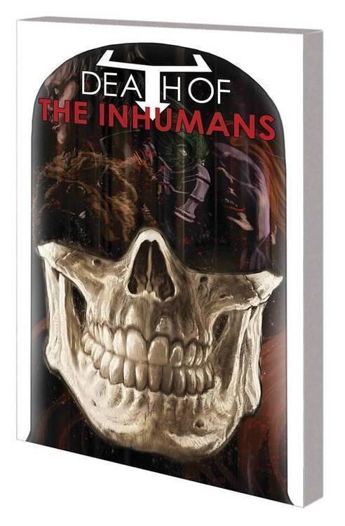 Marvel comics death of inhumans tpb 20180928
