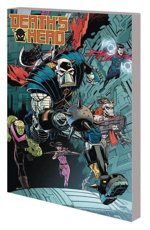 Marvel comics deaths head tpb clone drive 20190828