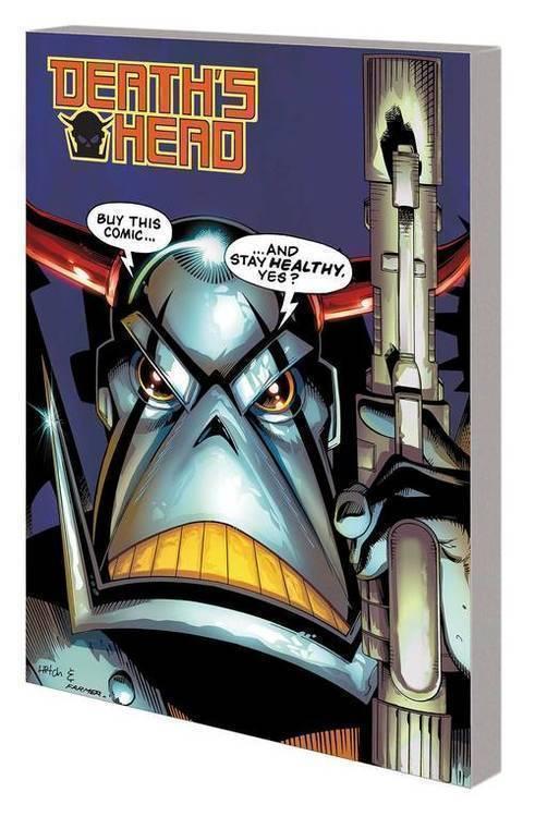 Marvel comics deaths head tpb freelance peacekeeping agent 20191031