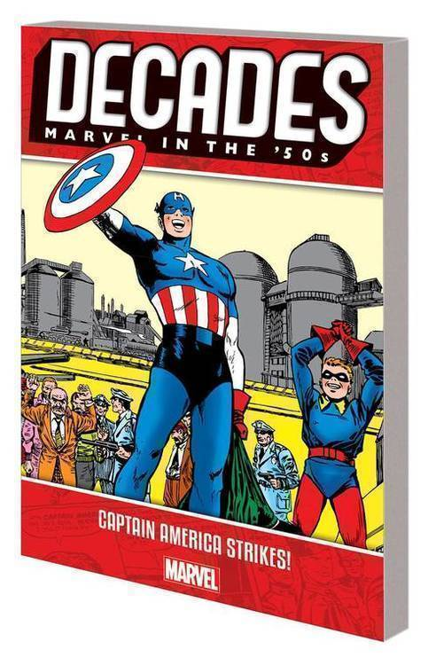 Marvel comics decades marvel 50s tpb captain america strikes 20181025