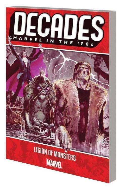 Marvel comics decades marvel 70s tp legion of monsters 20181231