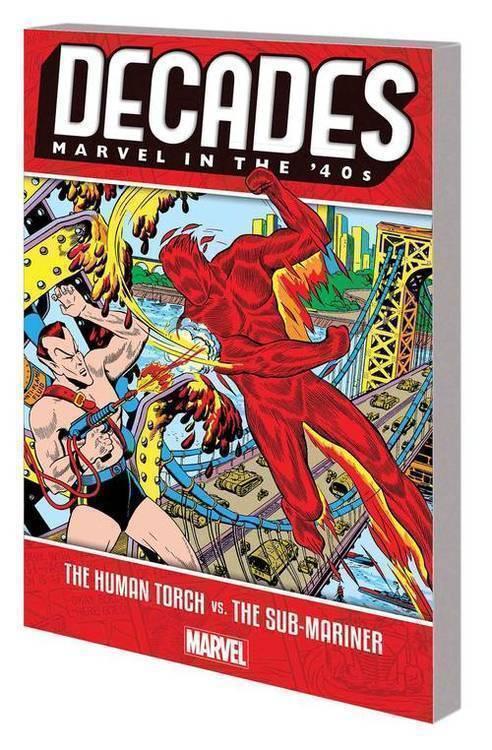 Marvel comics decades marvel in 40s tpb human torch vs sub mariner 20180928