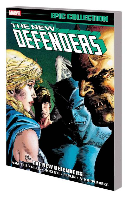 Marvel comics defenders epic collection tpb the new defenders 20180430