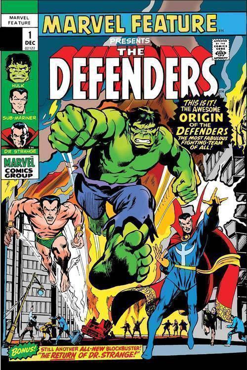 Marvel comics defenders marvel feature facsimile edition 20190225