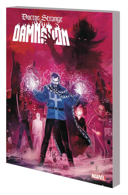 Marvel comics doctor strange damnation tpb 20180329