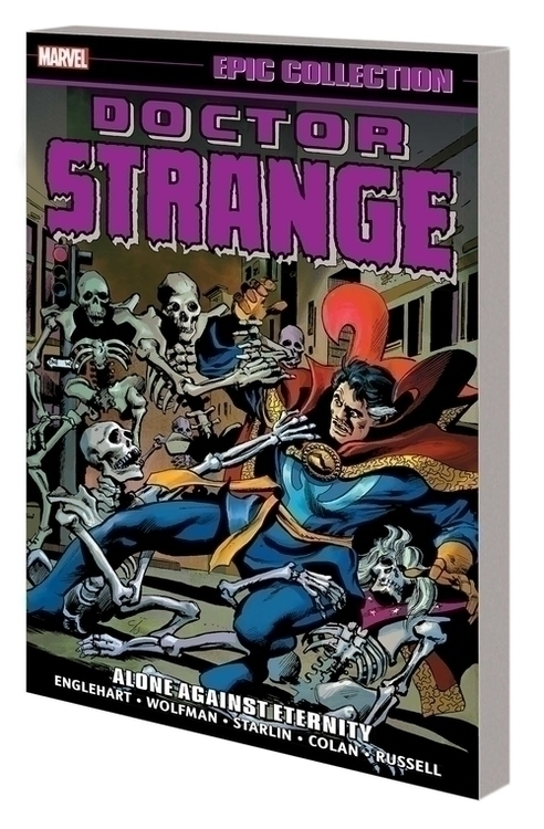 Marvel comics doctor strange epic collection tpb alone against eternity 20201028