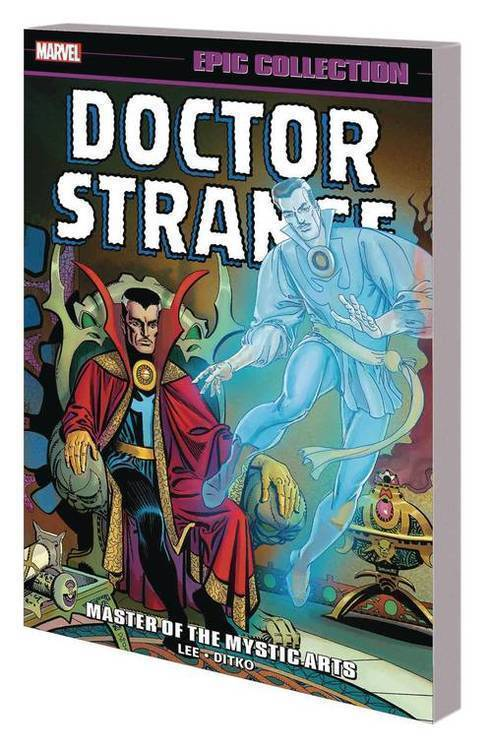 Marvel comics doctor strange epic collection tpb master of the mystic arts 20180701