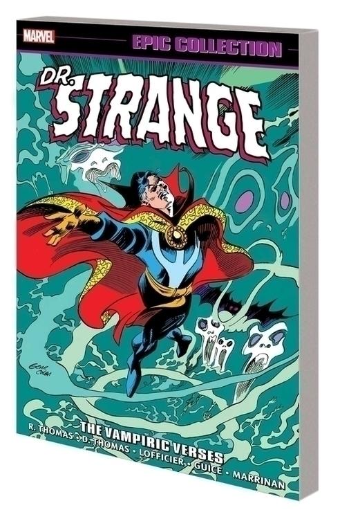 Marvel comics doctor strange epic collection tpb vampiric verses 20210502