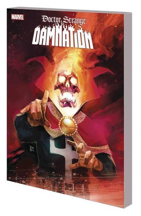 Marvel comics doctor strange tpb damnation 20180701