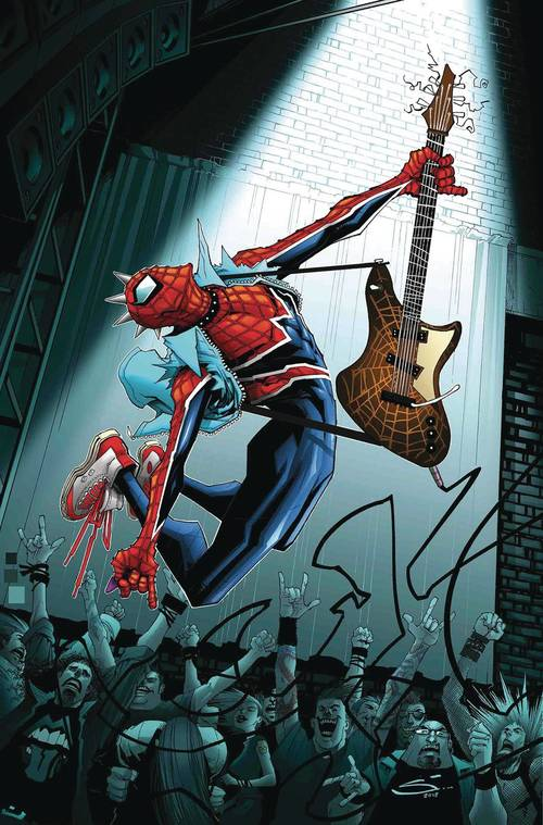 Marvel comics edge of spider geddon 20180530