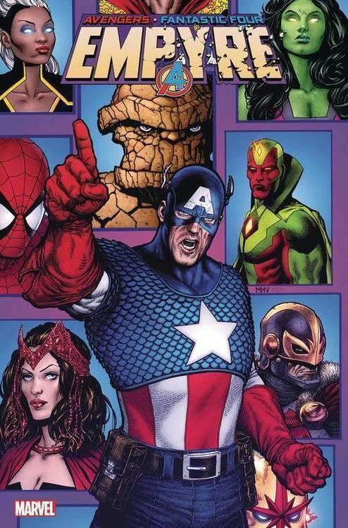 Marvel comics empyre avengers 20200128