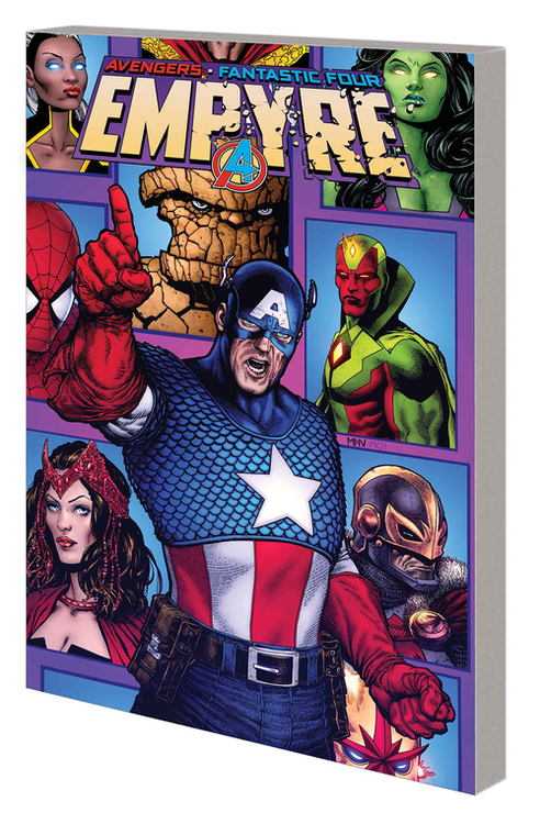 Marvel comics empyre captain america and avengers tpb 20200730