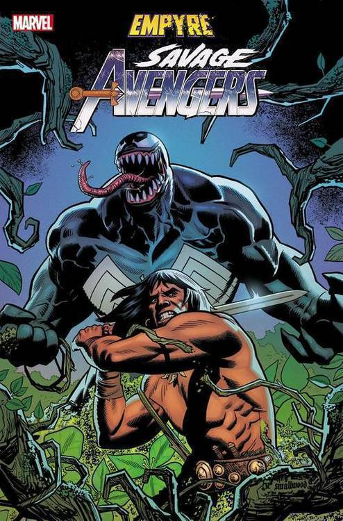 Empyre Savage Avengers #1