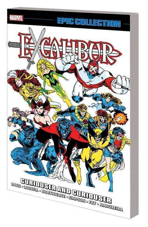 Excalibur Epic Collection TPB Curiouser And Curiouser