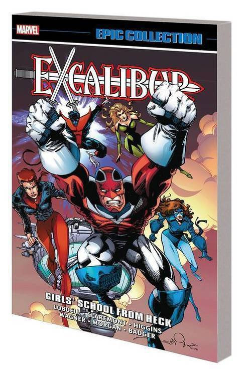 Marvel comics excalibur epic collection tpb girls school heck 20181025