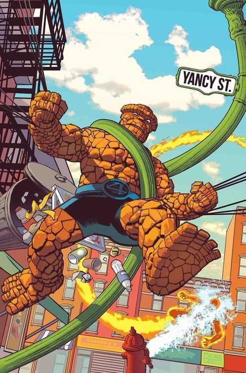 Fantastic Four 4 Yancy Street
