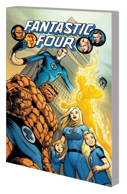 Marvel comics fantastic four by hickman complete collection tpb volume 01 20180430