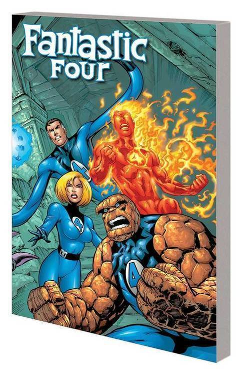 Marvel comics fantastic four complete collection tpb vol 01 heroes return 20181130