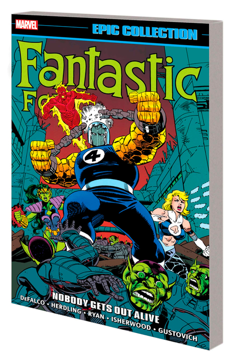 Marvel comics fantastic four epic coll tpb nobody gets out alive 20210923