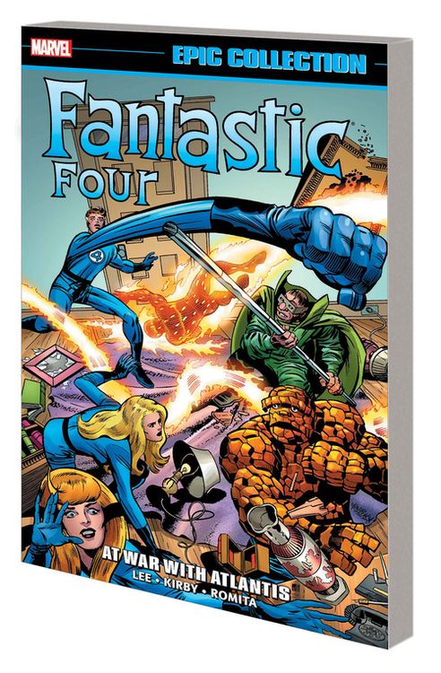 Marvel comics fantastic four epic collection tpb at war with atlantis 20200730