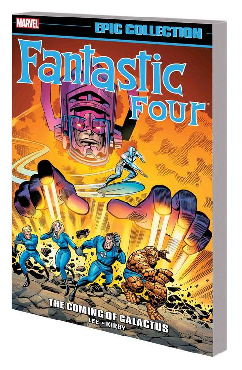 Marvel comics fantastic four epic collection tpb coming of galactus 20180430
