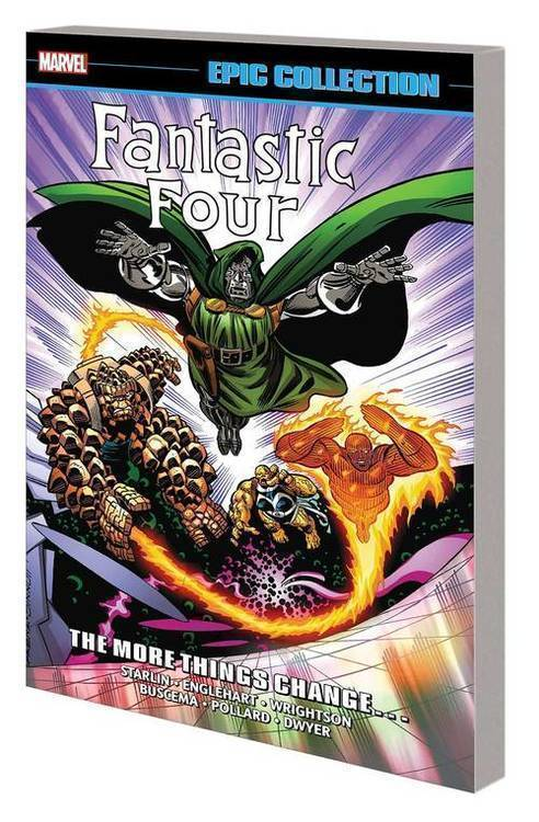 Marvel comics fantastic four epic collection tpb more things change 20190225