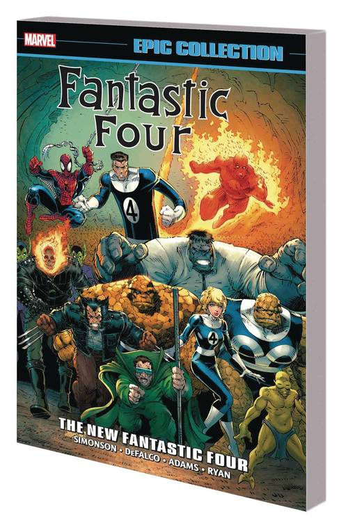 Marvel comics fantastic four epic collection tpb new fantastic four 20180329