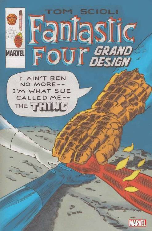 Marvel comics fantastic four grand design 20190730