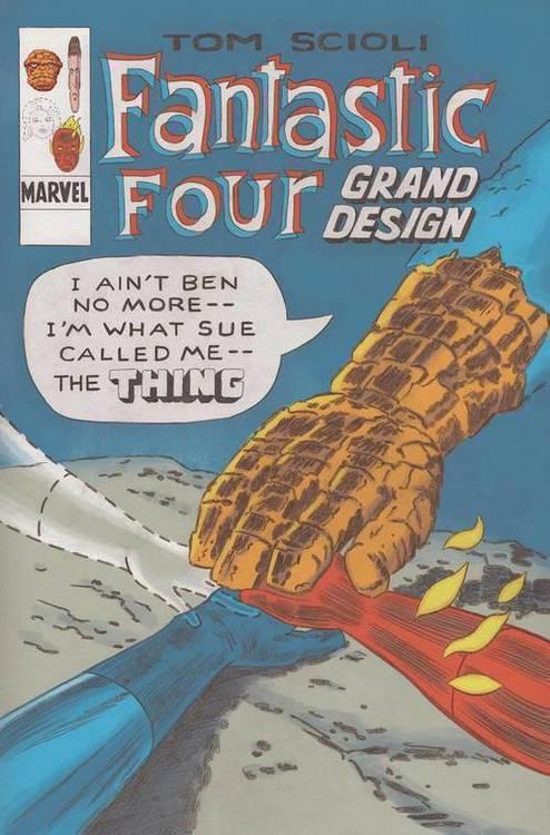 Marvel comics fantastic four grand design tpb 20190828